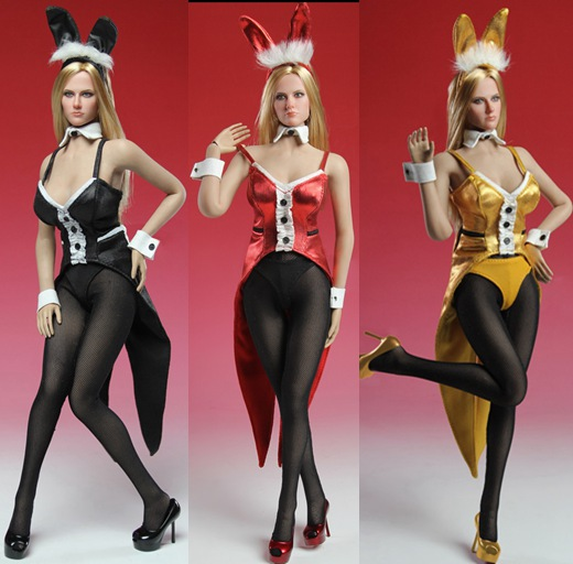 1/6 scale figure doll clothes for 12 Action figure doll accessories Female Sexy Bunny loaded dress.not include doll and other 1 6 scale figure doll clothes male batman joker suit for 12 action figure doll accessories not include doll and other 1584