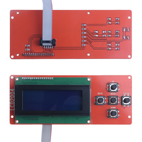 3D Printer Kit Smart Parts RAMPS 1 4 Controller Control Panel LCD Module Screen For Anet