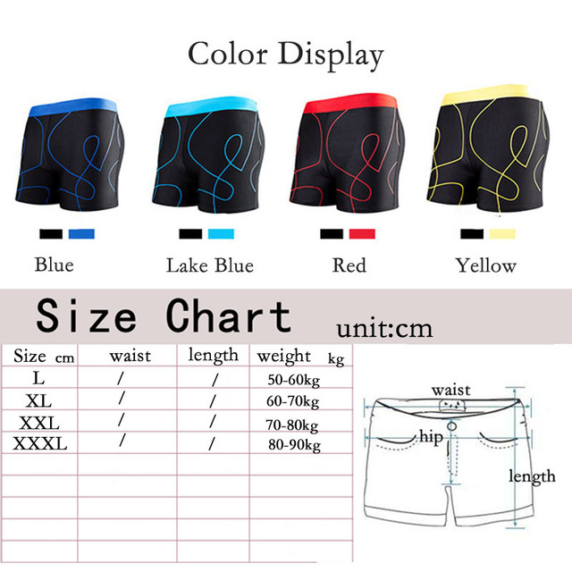 Men Swimwear Mens Swimsuit Surfing Beach Male Short Trunks Swimming Pool Bathing Swim Suit Boxer Shorts Sunga Briefs Plus Size