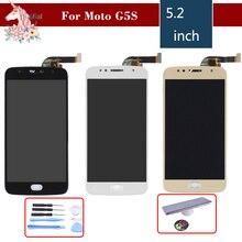 Original For Motorola Moto G5S LCD Display Touch Screen Digitizer Sensor Complete Assembly XT1791 XT1792 XT1794 XT1795 XT1797 смартфон motorola moto g5s lunar gray xt1794