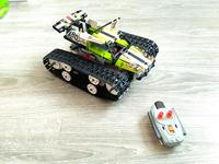 20033 Technic RC TRACKED RACER Building Block Electric Motor Power Function Model 42065 Compatible With Lego