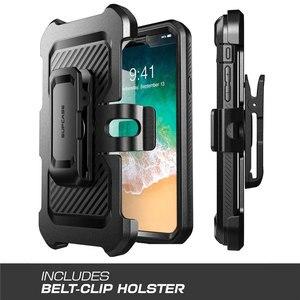 Image 5 - SUPCASE dla iPhone Xs Max Case 6.5 cala UB Pro wytrzymała obudowa na cały korpus z wbudowanym ochraniaczem ekranu i podstawką