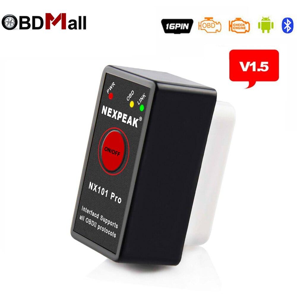 Mini adaptateur Bluetooth ELM327 V1.5 ODB2 EML327 V1.5 Scanner pour Android ELM327 ODB 2 outil de Scanner de Diagnostic de voiture avec Code derreurMini adaptateur Bluetooth ELM327 V1.5 ODB2 EML327 V1.5 Scanner pour Android ELM327 ODB 2 outil de Scanner de Diagnostic de voiture avec Code derreur