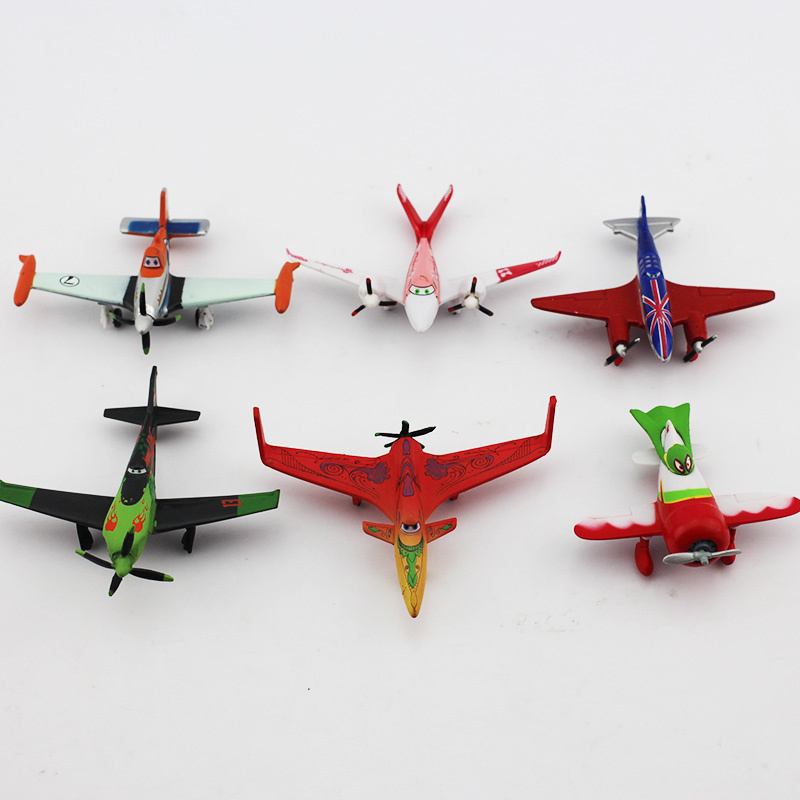 Planes Pixar Dusty Skipper PVC Mini Figures Kids Toys Gifts for Children PVC Figure Toys 6pcs/lot 7CM Free Shipping