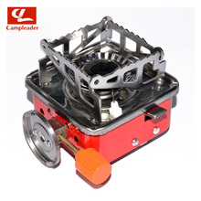 Campleader Outdoor Camping Gas Stoves and Equipped Fire Starter Gas Burners Square Foldable for Camping Picnic CL118