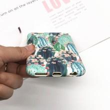 Flower Leaf Phone Case iPhone 6 6s Plus 7 8 X