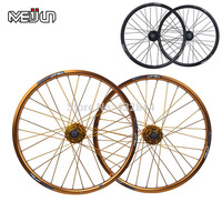 20 26 Multi Color MTB Mountain Bike Folding Bike Bicycle Wheel Disc Wheelset High Quality 21