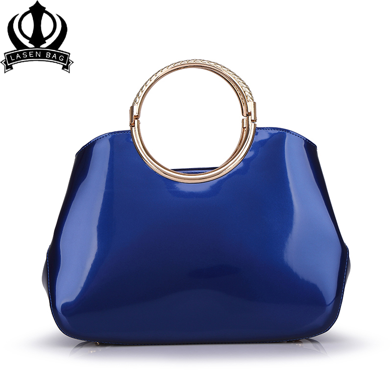 2019 Women Patent Leather Luxury Designer Handbags High Quality Shoulder Bags Sac A Main Femme De