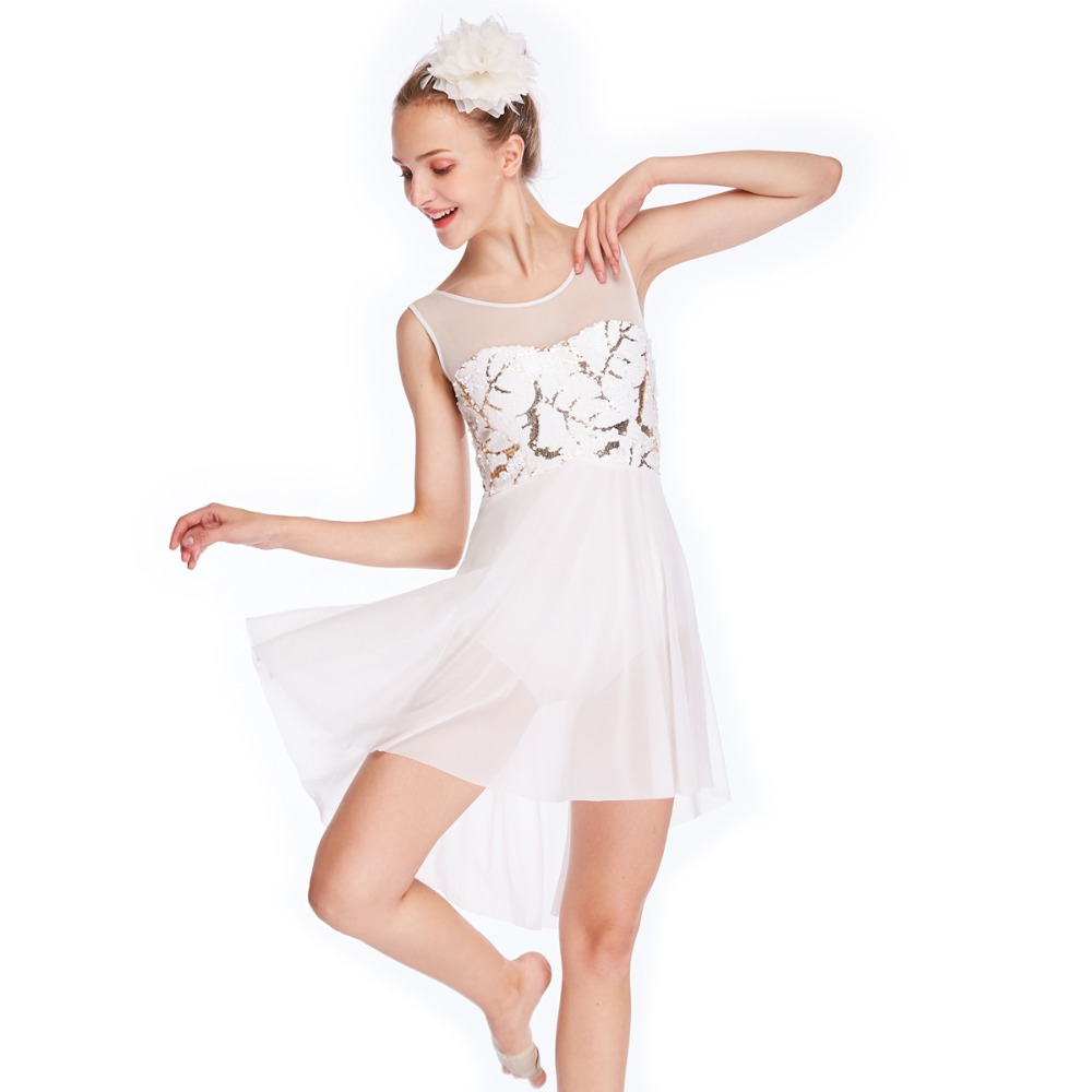 Dance Costume lyrical ballet modern  hooded unitard illusion