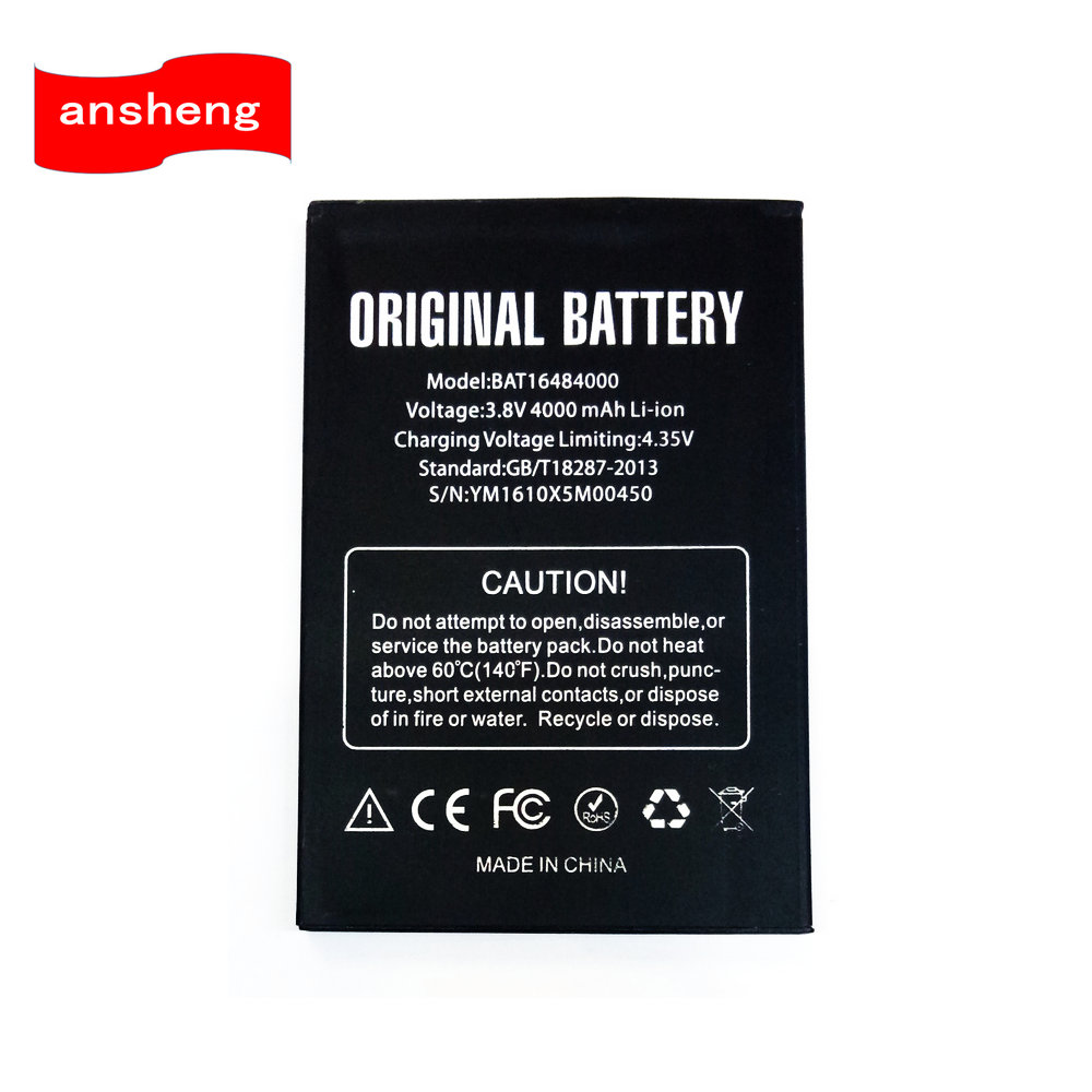 High Quality BAT16484000 4000mAh battery for DOOGEE X5 MAX x5max Pro Cellphone title=