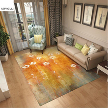 AOVOLL Carpets For Living Room Rugs And Home Childrens Rug Carpet Kids Mat Floor Mats