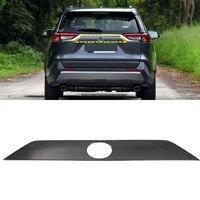 Für Toyota RAV4 2019 2020 abs Auto Auto zubehör Hinten Stamm Schwanz Tor Deckel Molding Abdeckung Trim 1PCS
