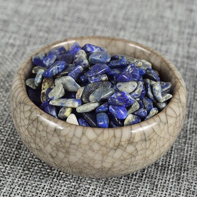 Extra 10 Gram Free Natural Crystals Healing Reiki Lapis lazuli Chip Stone Gemstone Tumbled Stone Fountain Decor  Garden Mineral
