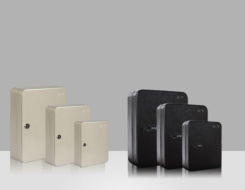 Key Lock Box Cabinet Organizer Storage Security Keys Holder Hidden Safe Steel 48