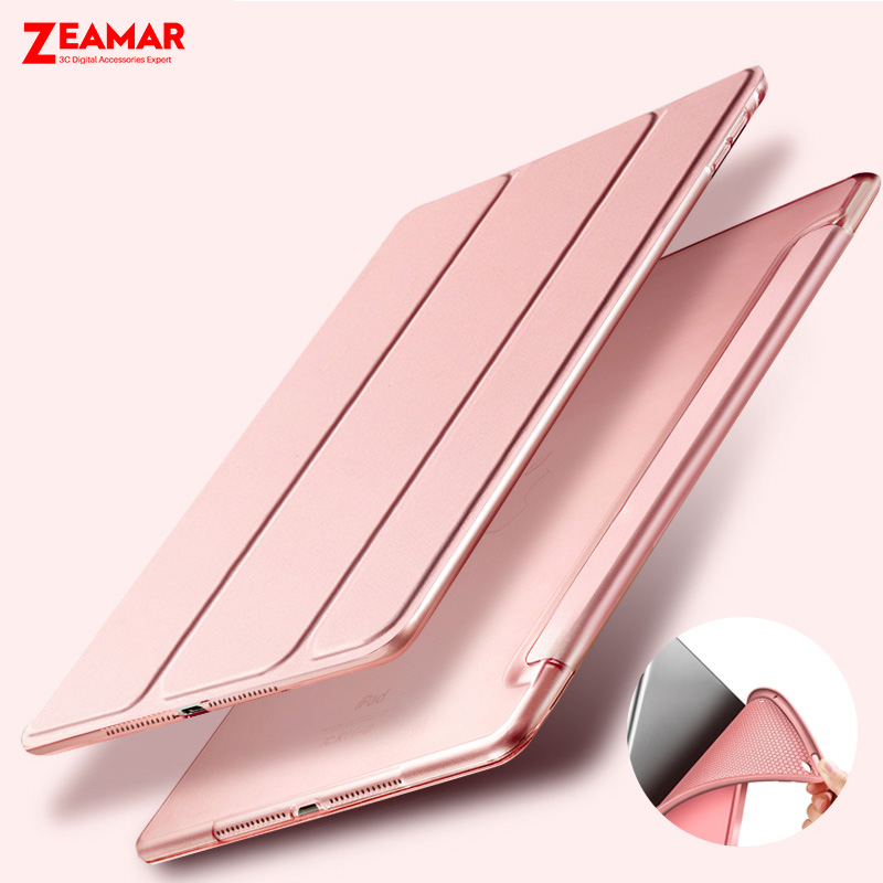 For iPad Pro 10.5 case Leather Flip Smart Magnetic Case Cover For iPad Pro 10.5 Apple PU Silicone Back With Auto Sleep /Wake up case for apple 2017 2018 new ipad 9 7 and air 1 ycjoyzw pu leather slim magnetic front smart cover hard pc back sleep wake up
