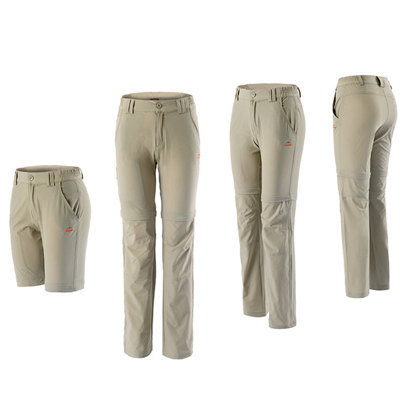 Naturehike Womens Quick-drying Trousers Outdoor Sport Pants Detachable Pants NH02Y016-KW