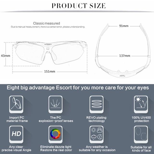 2020 polarizado ciclismo óculos eyewears 3 lente uv400 mountain road bicicleta mtb correndo pesca óculos de sol eyewear 5