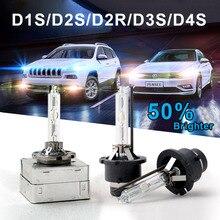 2 pcs 35W HID Xenon Bulb D1S D2S D3S D4S Auto lamp Replacement Front Light Car Styling 4300K 6000K 8000K 10000K car headlight
