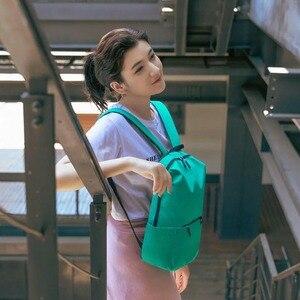 Image 4 - Xiaomi colorido mini mochila saco 10l anti água mi 8 amantes da cor casal mochila para estudante younth