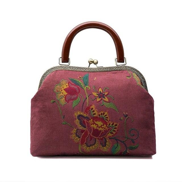 27 Cm Metal Purse Frame Bag Handle With Wooden Diy Accessories Hanger