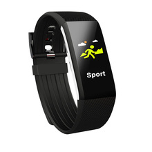 Dynamic Heart Rate Monitor Fitness Tracker Waterproof Bluetooth Smart Wristband Monitor Pedometer Bracelet in Russian languages