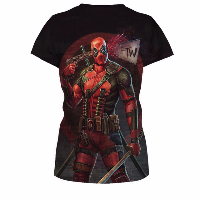 Women Deadpool T-shirt