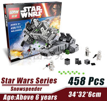 LEPIN 05002 First Order Transporter Snowspeeder Star Wars Minifigure Building Block 466Pcs Bricks Toys Compatible with Legoe