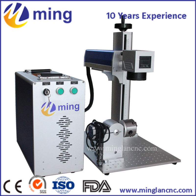 Fiber laser metal engraving marking machine with Raycus/IPG laser brand optional for gold silver,stainless steel marking 3 76mm cast iron cover marking machine stylus for stainless steel marking machine