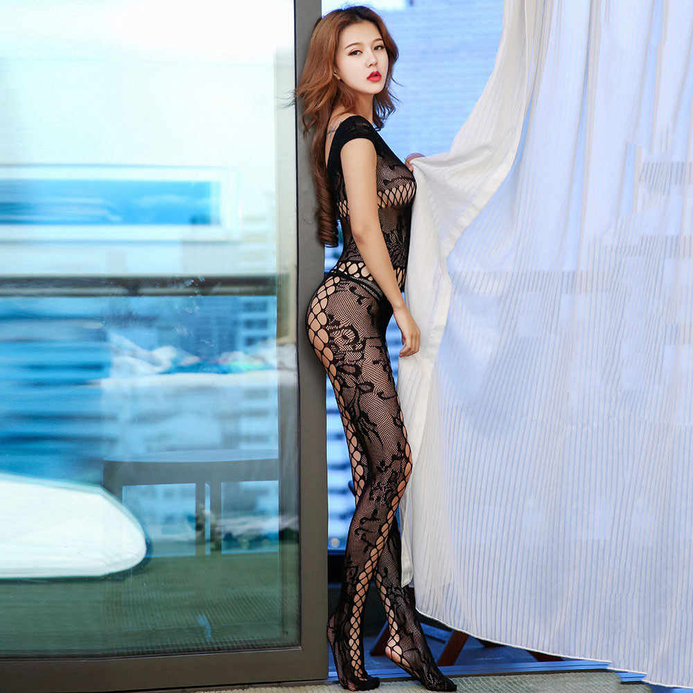 Для женщин сексуальные чулки Летние ажурные колготки высокие эластичные женское нижнее белье открытая сетка черный боди комбинезон collant femme