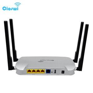 Image 3 - Gigabit wifi roteador 802.11ac genuíno 1200 mbps dupla banda 512 mb ddr3 mt7621 5dbi antenas externas forte sinal para escritório