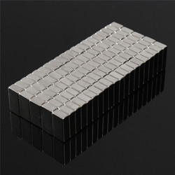 100 stücke Quader Permenent Starke Magnet Rare Earth Neodym N50 Magneten 10*5*3mm Heißer Verkauf