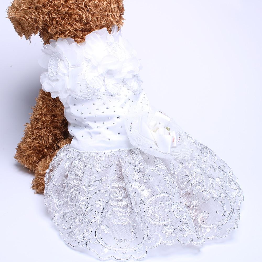 Σκύλος Cat Πολυτελές Γάμος Princess φόρεμα - Προϊόντα κατοικίδιων ζώων - Φωτογραφία 6