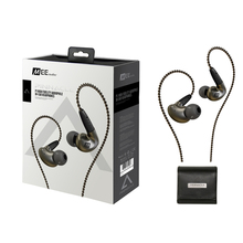 New MEE Audio Pinnacle P1 Earphone Audiophile High Fidelity In Ear Earphones Monitors Headset With Detachable Cables