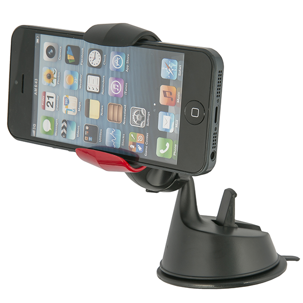Phones & Telecommunications Mobile Phone Holders & Stands Red Line UT000007027 popsoket car holder stand phone ring