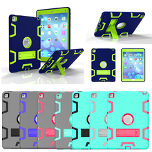 New Armor Case For iPad2 iPad3 iPad4 Kids Safe Heavy Duty Silicone