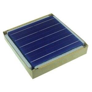 Image 5 - 20 pces 4.5 w uma categoria 156mm fotovoltaico policristalino célula solar 6x6 para o painel solar do pv