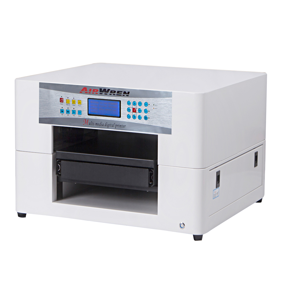 CE Approved Solvent Printer A3 Size Glass Solvent Printer Machine