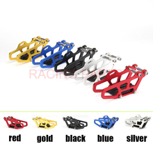 Free shipping NEW CNC Chain Guide Guard Sprocket Guard Protector For CR 125 250R CRF 250R 250X 450R 450X Motorcross Dirt Bike