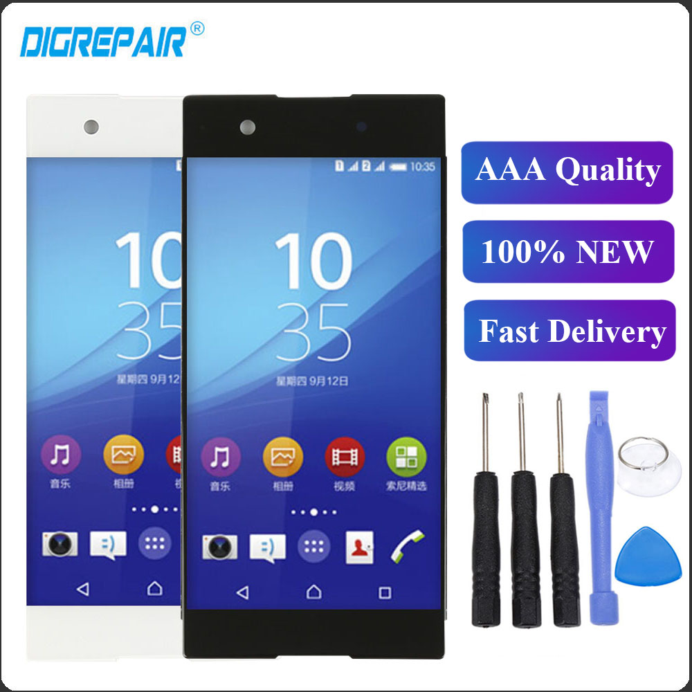 xa1 lcd For Sony Xperia XA1 G3121 G3112 G3125 G3116 G3123 LCD Display Touch Screen Digitizer Assembly Parts For Sony xa1 LCD