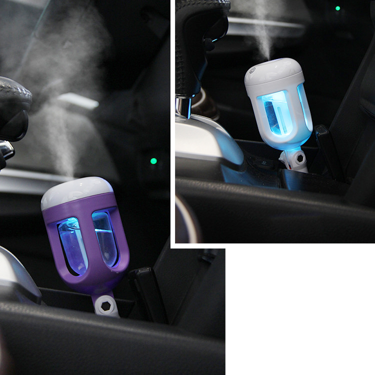 Car Aroma Diffuser Humidifier - Portable Mini Car Aromatherapy Humidifier Air Diffuser Purifier essential oil diffuser* usb portable mini cartoon penguin aromatherapy diffuser oil spreader air humidifier aromatherapy sprayer atomizer home car hot