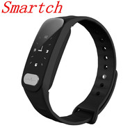 Smartch Smart Bracelet Fitness Tracker Step Counter Activity Monitor Band Alarm Clock Vibration Wristband IOS Android phone