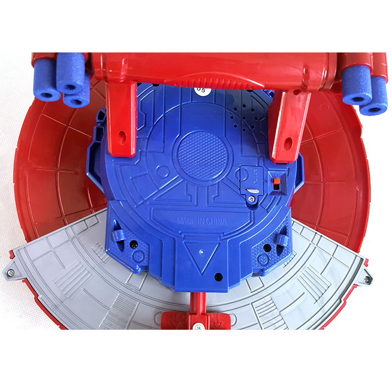 CAPTAIN AMERICA LED /& MUSIC REVEAL SHIELD IN CIVIL WAR KIDS COSPLAY PLAYSET TOY