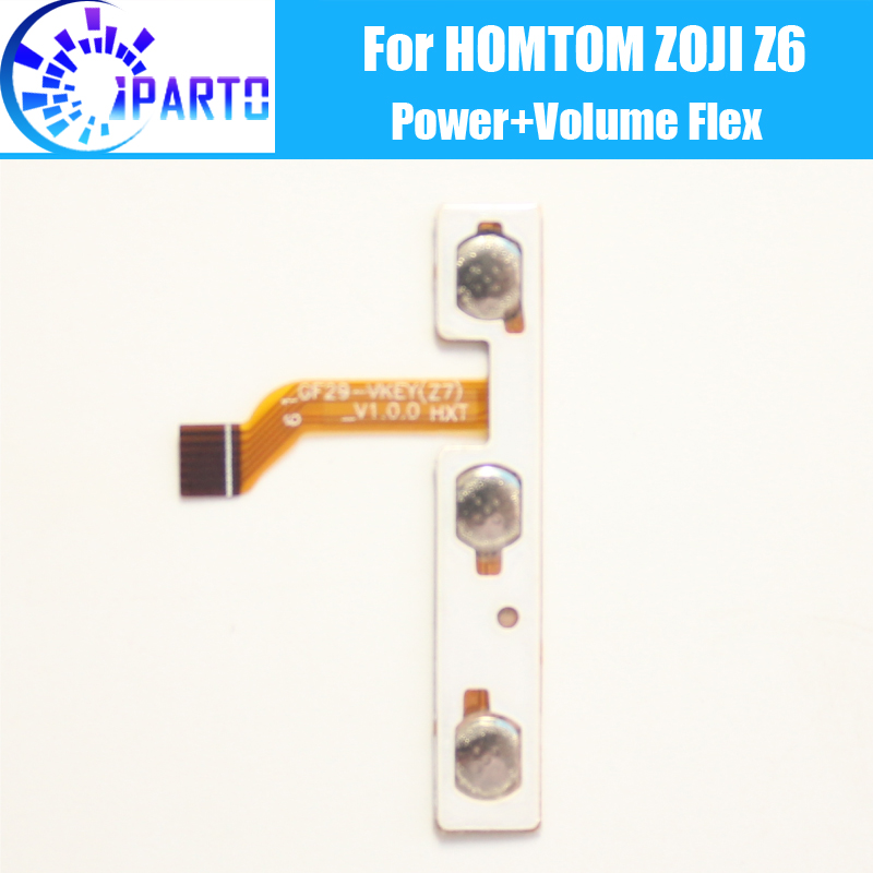 HOMTOM ZOJI Z6 Side Button Flex Cable 100% Original Power + Volume button Flex Cable repair parts for HOMTOM ZOJI Z6