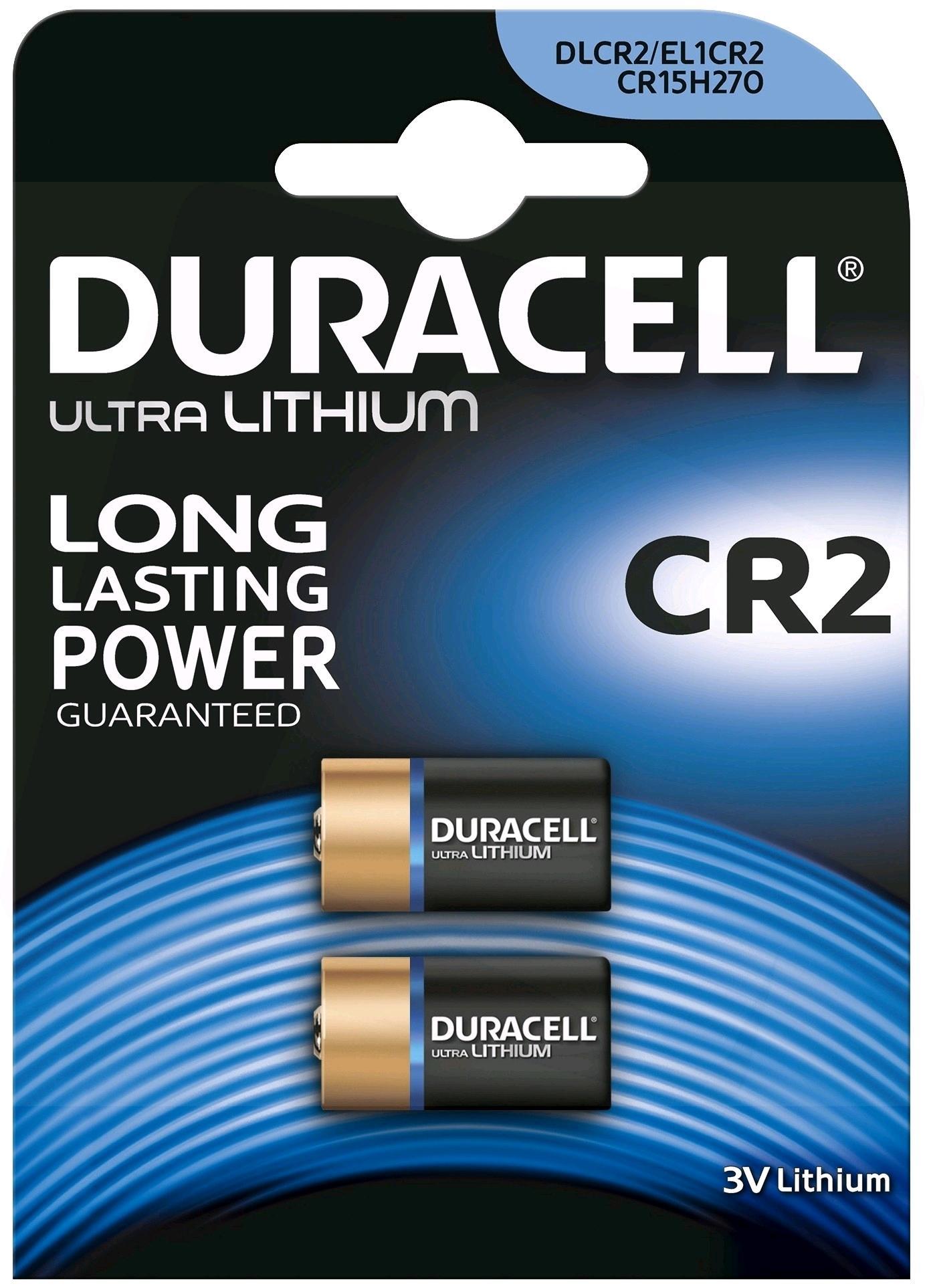 Pilas Duracell bateria original litige spécial CR2 3 V en blister 10X Unidades