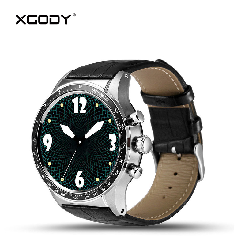 XGODY Y3 Fashion 3G Phone Call Smart Watch with Sim Card Android 5.1 MTK Quad Core GPS Heart Rate Monitor Pedometer Smartwatch jrgk kw99 3g smartwatch phone android 1 39 mtk6580 quad core heart rate monitor pedometer gps smart watch for mens pk kw88