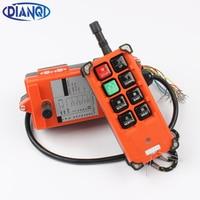 DC 36V Control Hoist Industrial Wireless Crane Radio Remote Control System 1 Receiver 1 Transmitter