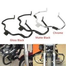 цена на Motorcycle Engine Guard Crash Bar For Yamaha V-Star Drag star 400 650 Classic Custom 1998-2012 2011 2010 1999 2000 Chrome/Black