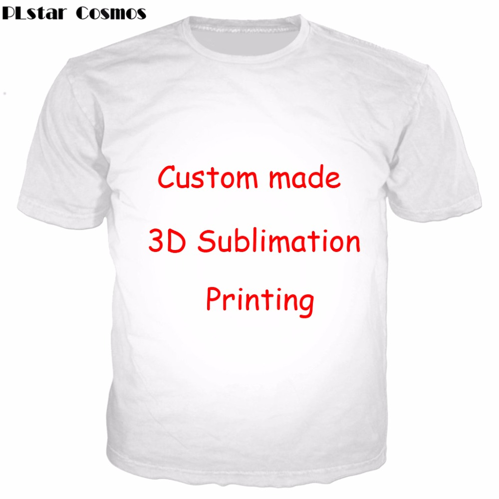 Design t shirts of your own - Accept 1pcs Customer Design Settings T Shirt Women Men Couple T Shirts Create Your Own Sublimation 3d Digital Printing T Shirt