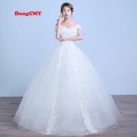 2017 New Arrival Long White Color Bandage Wedding Dress