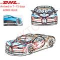DHL Technic 20086 Bugattied Super Racing Chiron Model Bouwstenen Baksteen Speelgoed Voor Kinderen Compatibel 42083